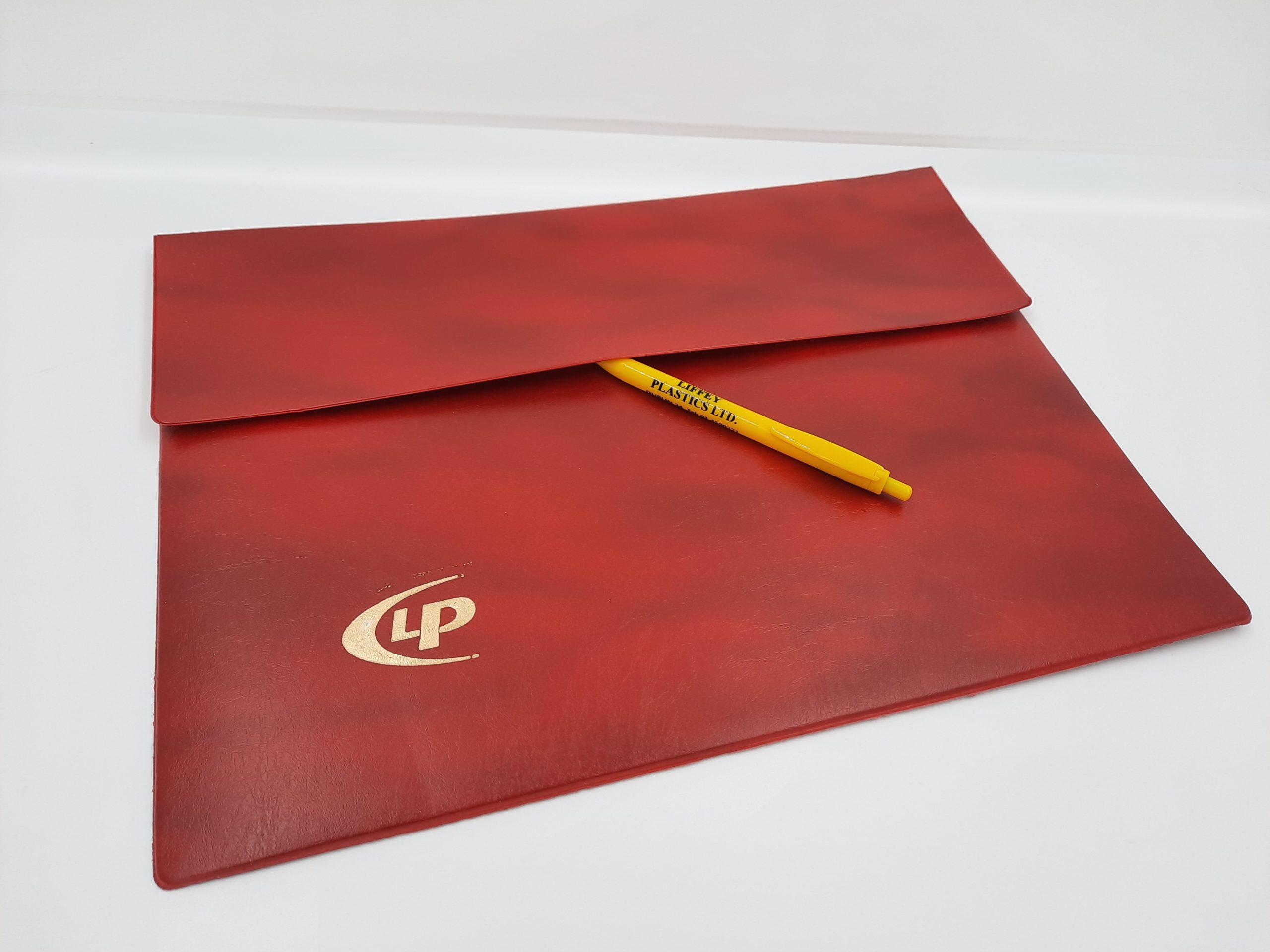 satchel and pen