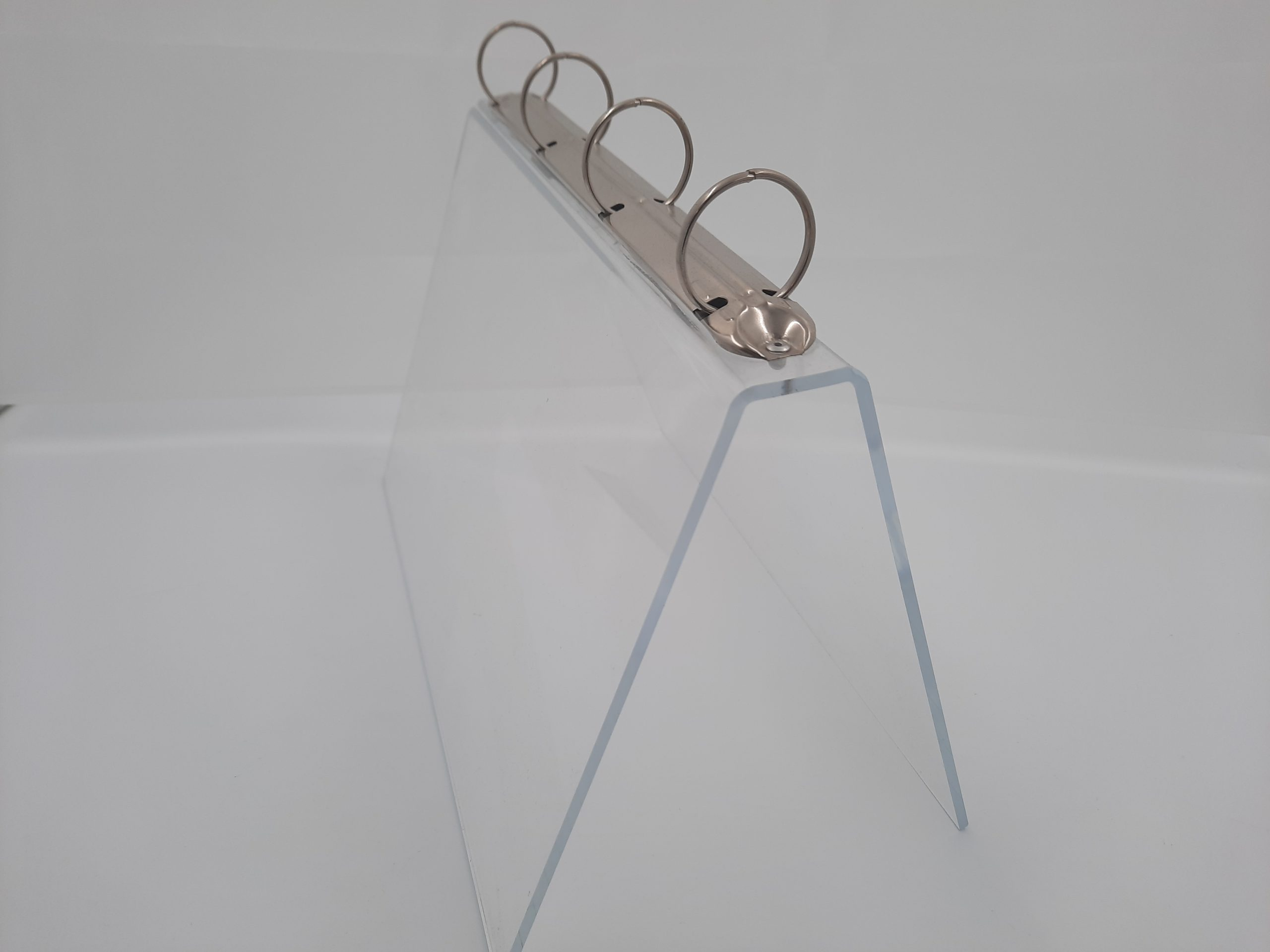 acrylic ring binder stand