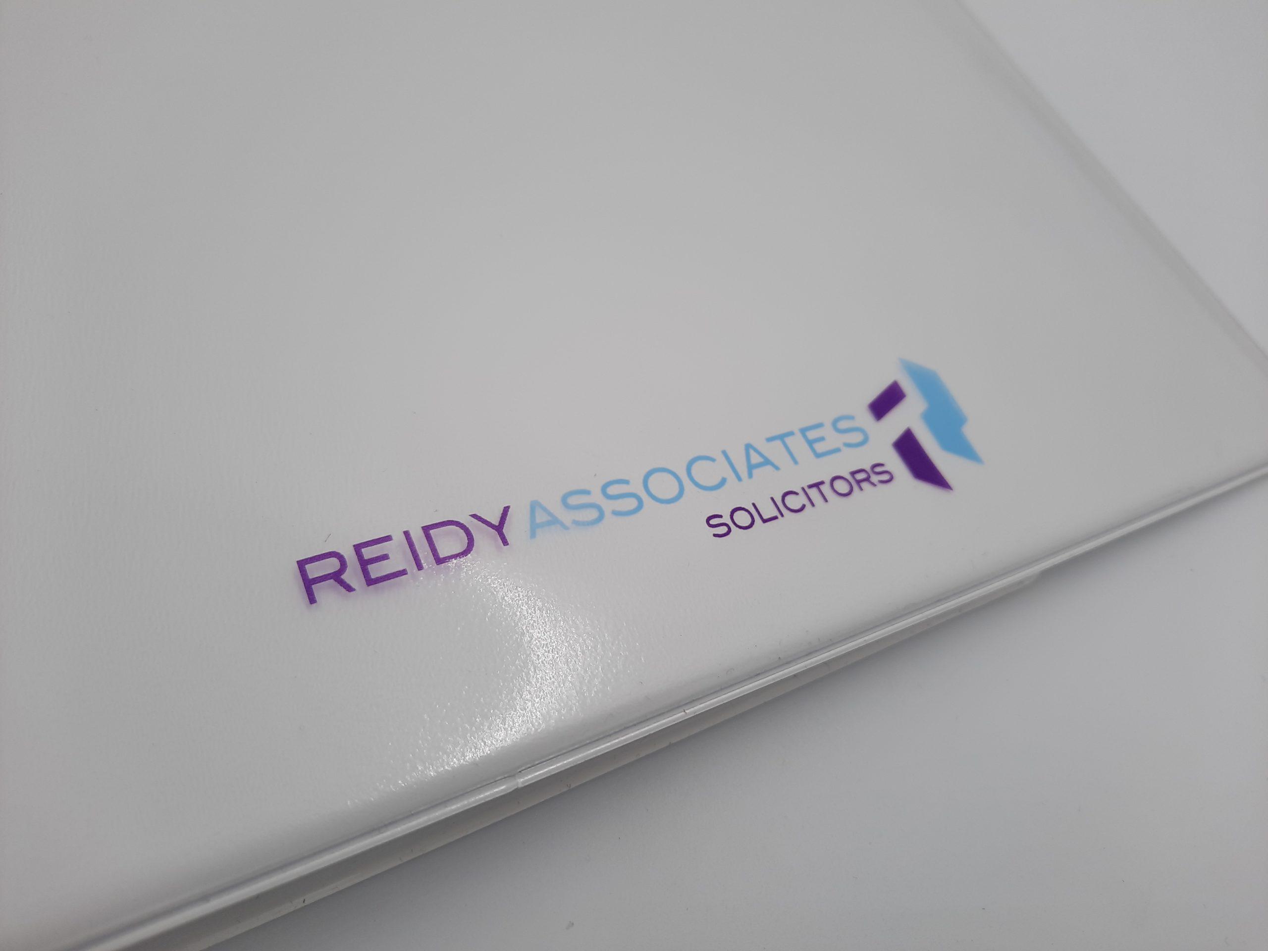 solicitors logo on folder